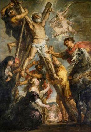 ルーベンス「聖アンデレの殉教」1638-39年・油彩